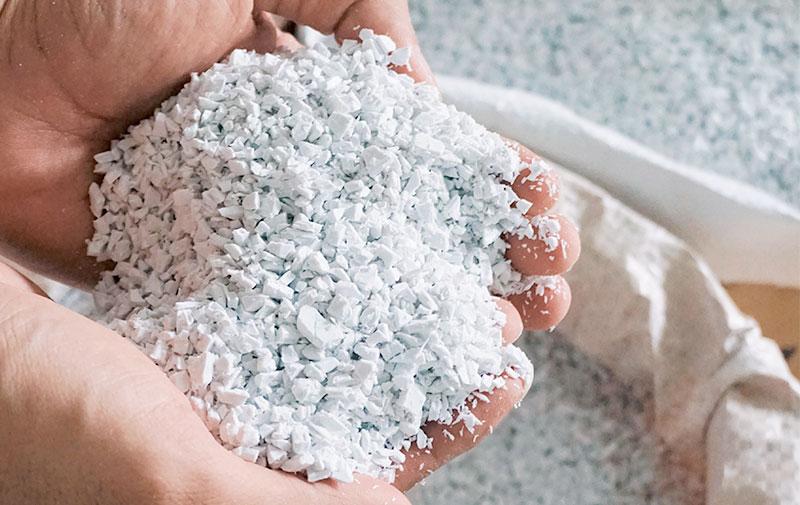 Biji Plastik Daur Ulang Bersih
